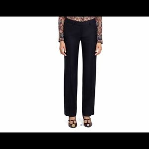 NWT Brooks Brothers Womens Lucia Fit Navy Trouser